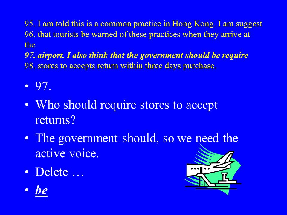 95. I am told this is a common practice in Hong Kong.