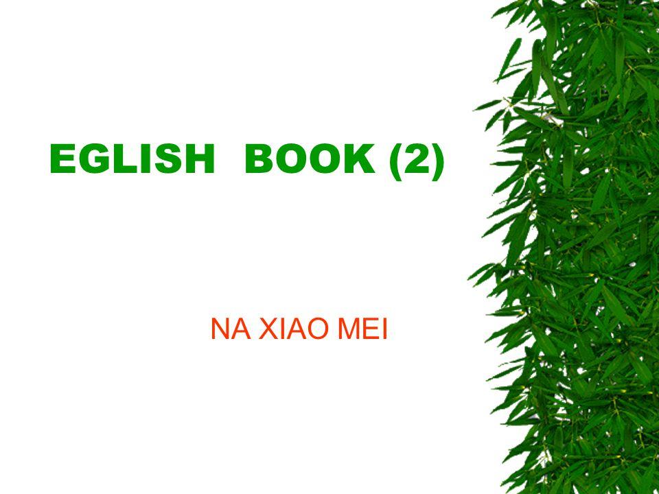 EGLISH BOOK (2) NA XIAO MEI