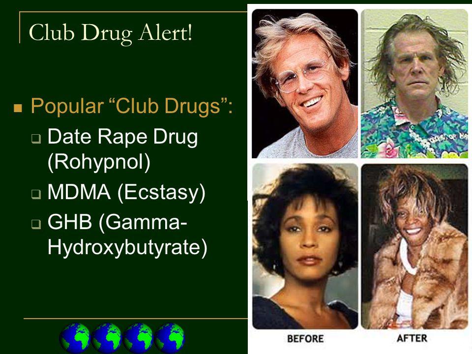 Club Drug Alert.