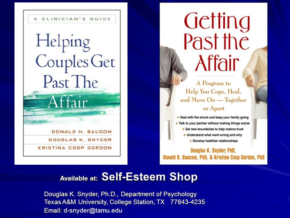 Available at: Self-Esteem Shop Available at: Self-Esteem Shop Douglas K.