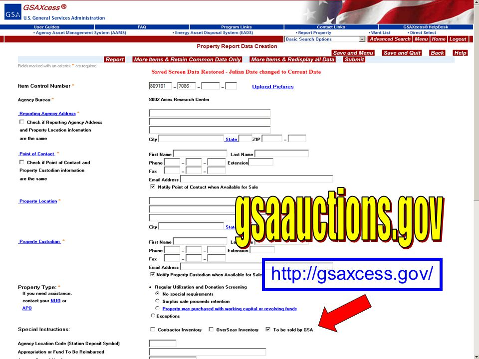 16 GSA Auctions ® www.gsaauctions.gov How does it work? What can we sell? Preferred Sale Method