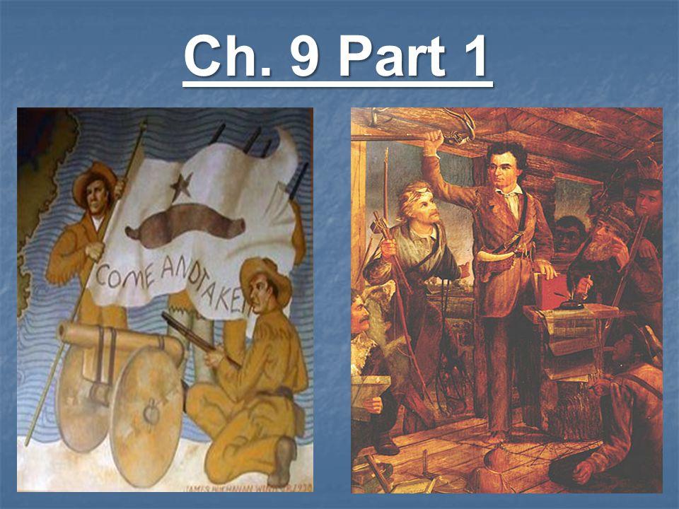 Ch. 9 Part 1