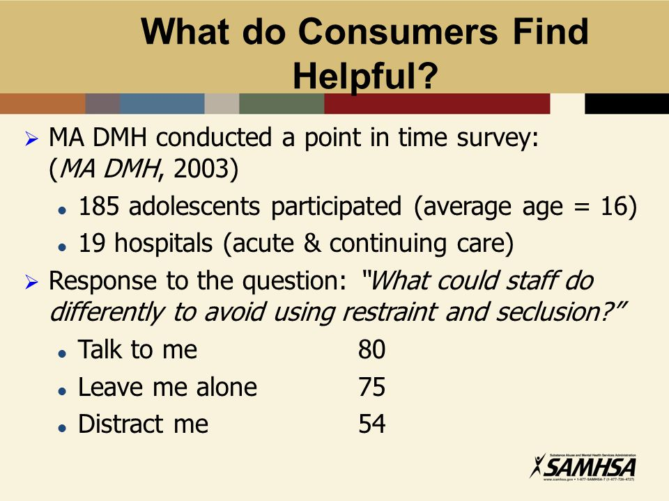 What do Consumers Find Helpful.