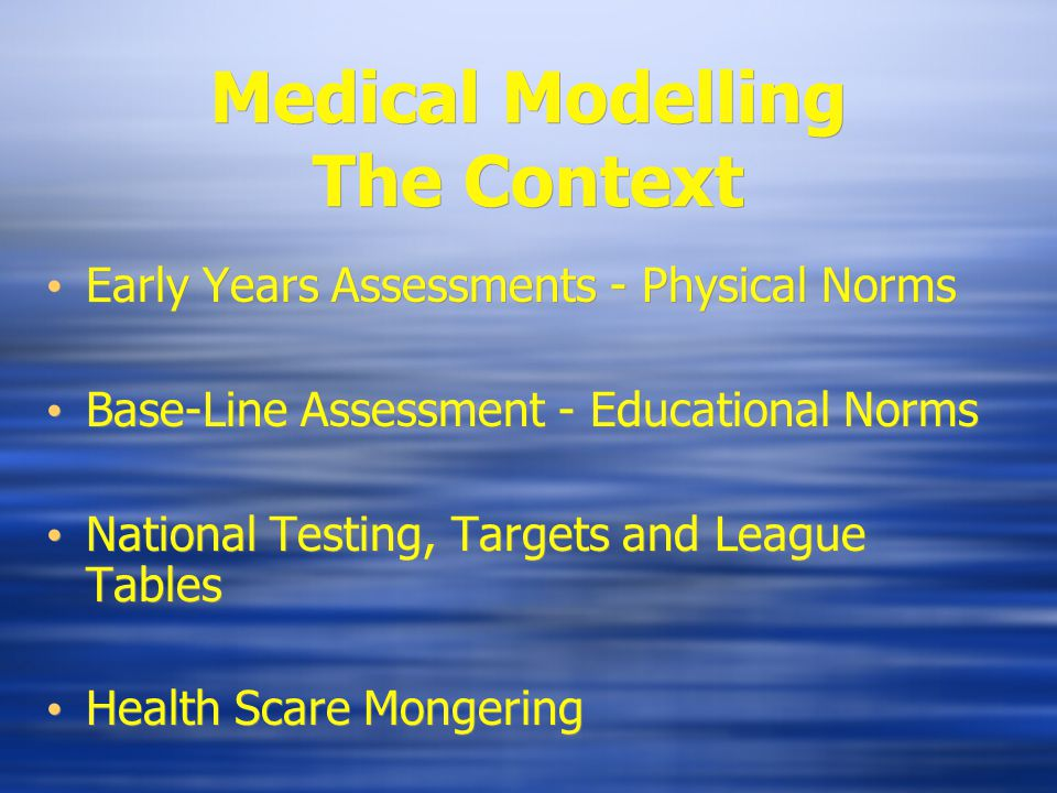 Health Scaremongering Solid research evidence to back practice is only beginning to emerge.