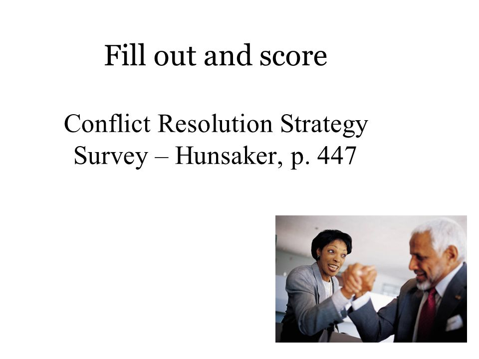Conflict and Performance Level of Conflict Organizational Outcomes Low High Neg. Pos.