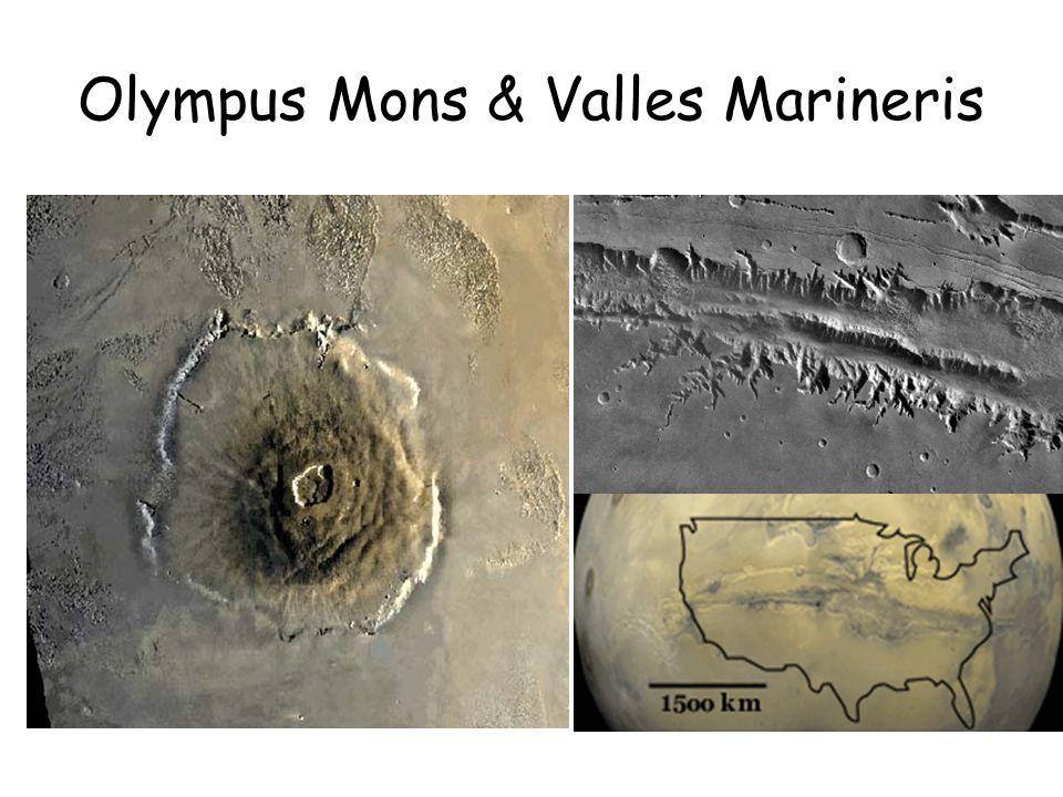 Olympus Mons & Valles Marineris