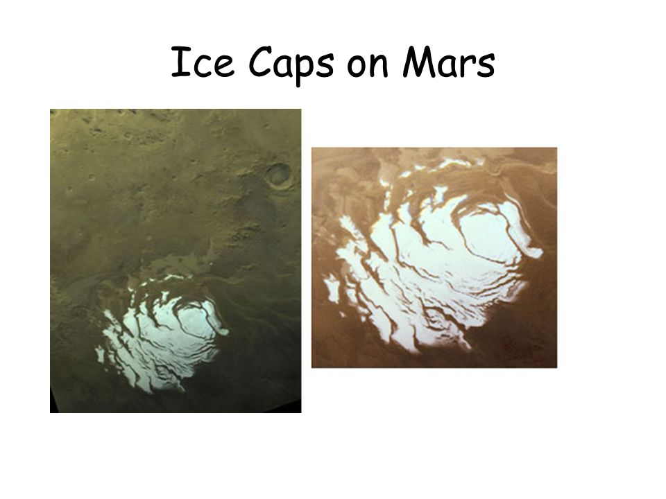 Ice Caps on Mars