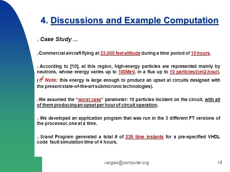 vargas@computer.org16  Case Study...