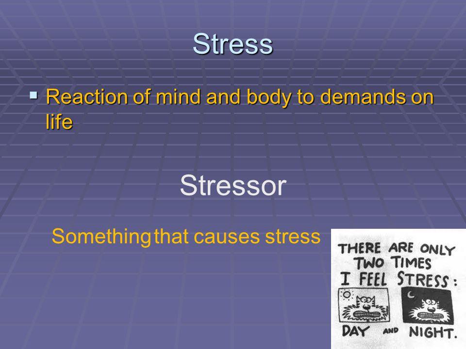 Eustress vs.