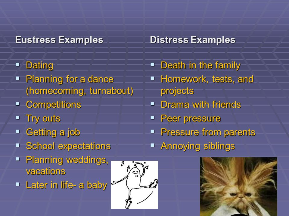 Stress really starts with…  Your PERCEPTION of the event or situation.