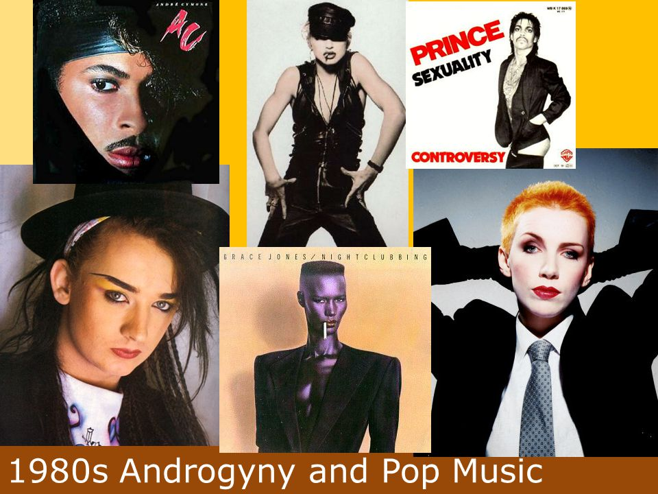 1980s Androgyny and Pop Music