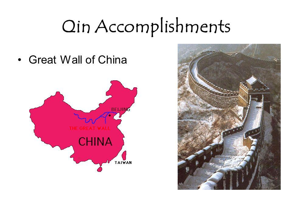 Qin Accomplishments Great Wall of China