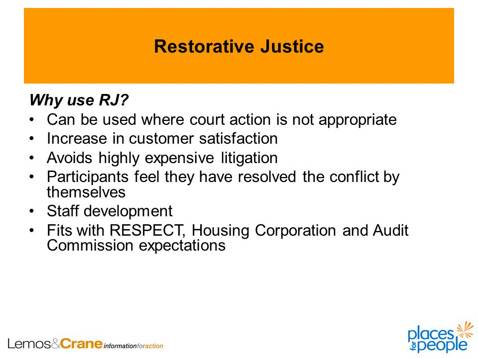 Why use RJ.