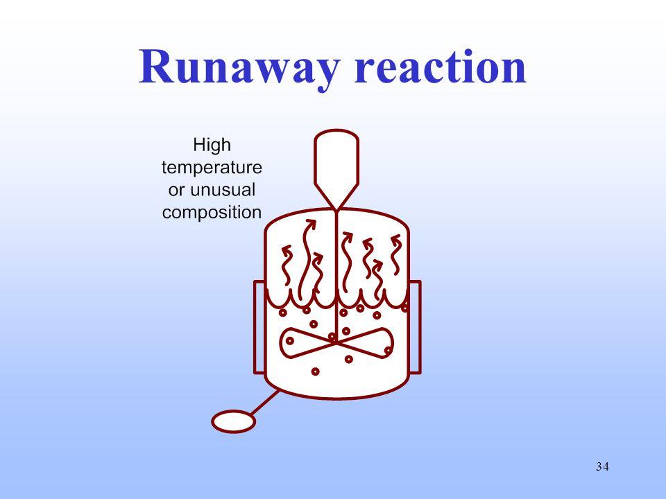 34 Runaway reaction
