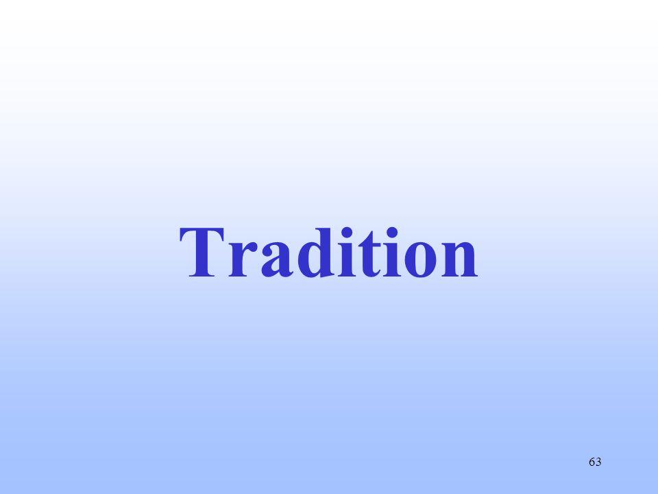 63 Tradition