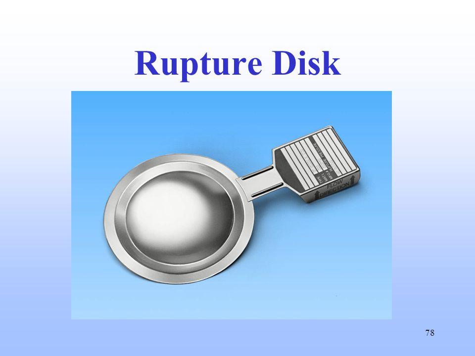 78 Rupture Disk