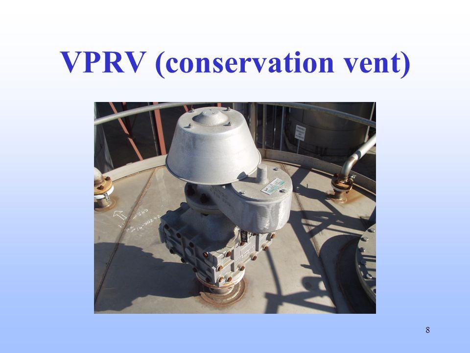 8 VPRV (conservation vent)