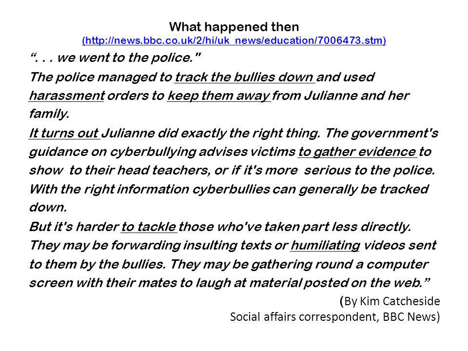 What happened then (http://news.bbc.co.uk/2/hi/uk_news/education/7006473.stm) (http://news.bbc.co.uk/2/hi/uk_news/education/7006473.stm) ...