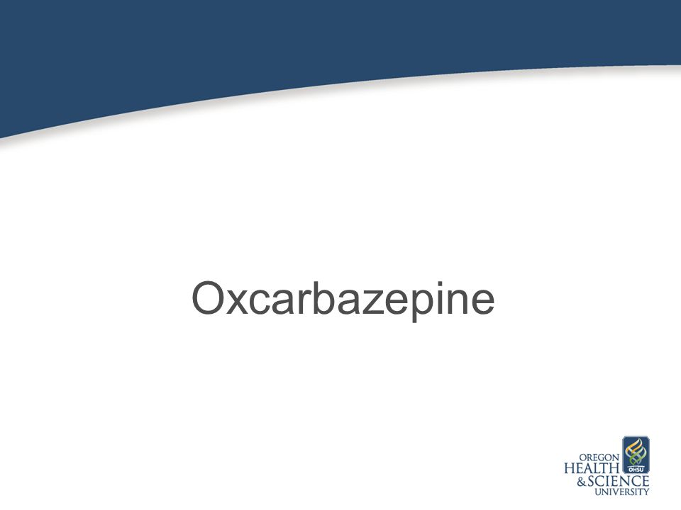 Oxcarbazepine