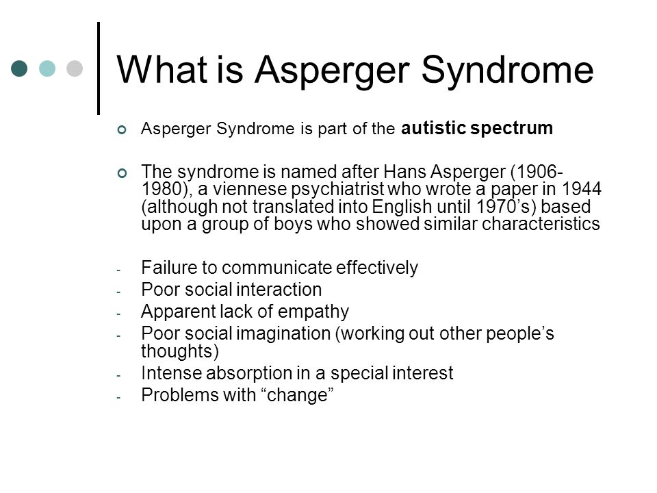 All Cats have Aspergers!