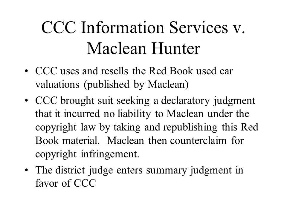 CCC Information Services v.