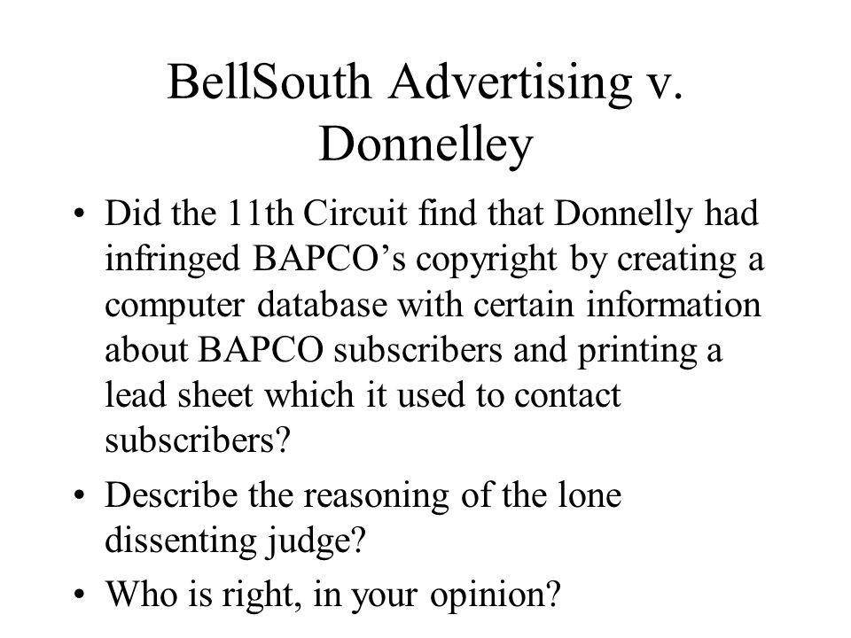 BellSouth Advertising v.