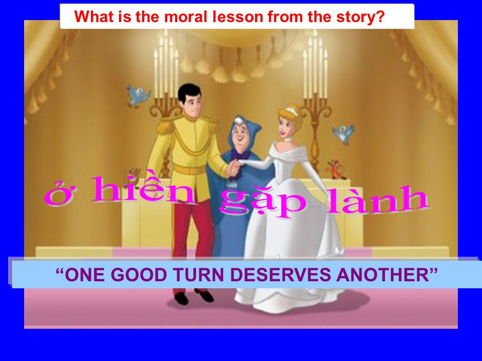 e/ Is this a true story? How do you know? No, It isn't. It's a folktale.