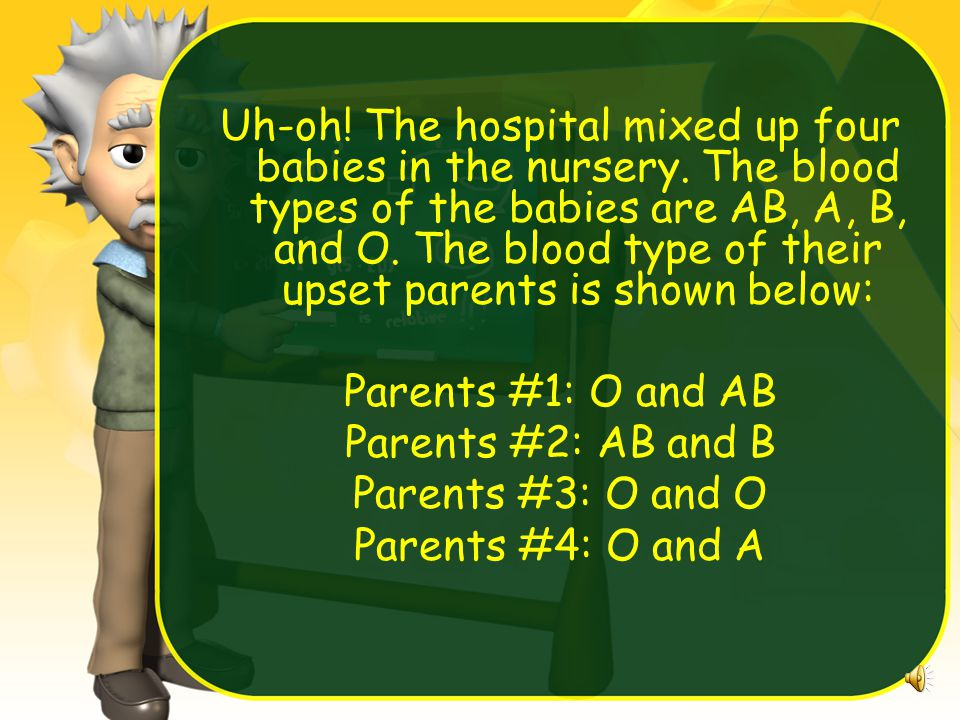 Uh-oh.The hospital mixed up four babies in the nursery.