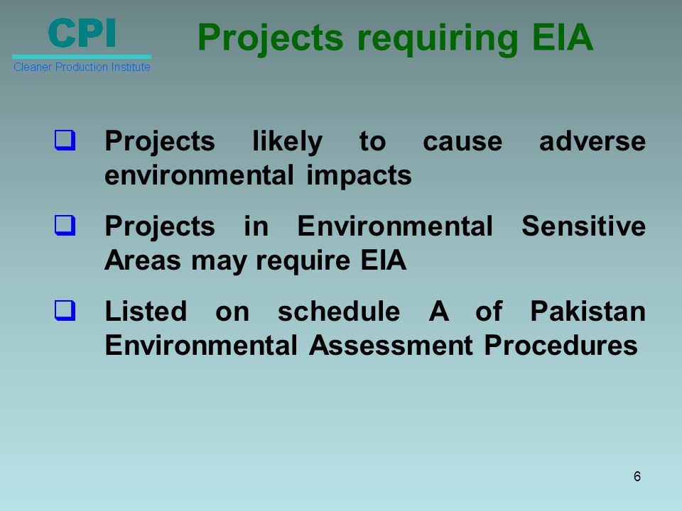 Scope of Environmental Management Plan Identification of Environmental Improvement Options Prioritization of Environmental Improvement Options Action Planning Report Formulation and Submission to EPA 17