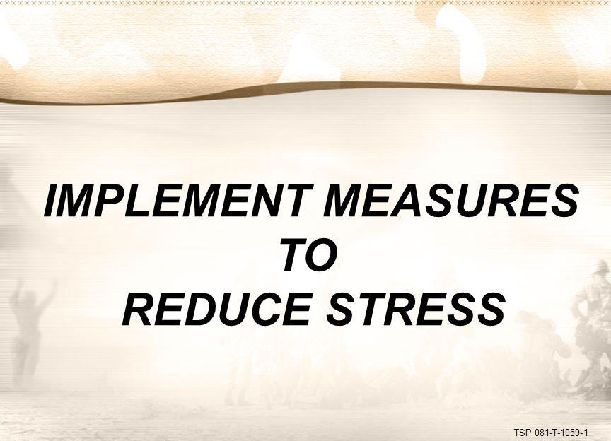 TSP 081-T-1059-2 STRESS-RELATED CHART - 1