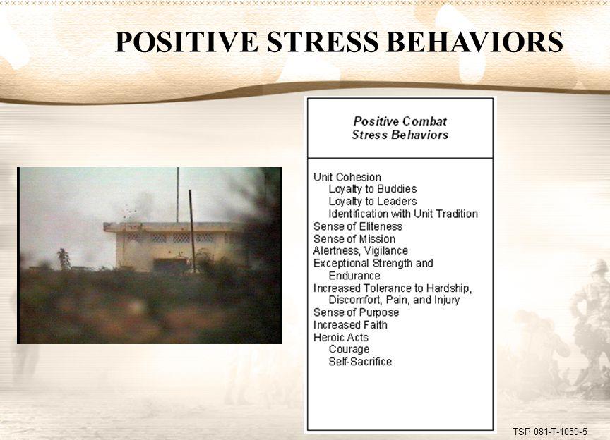 TSP 081-T-1059-6 MISCONDUCT STRESS BEHAVIORS