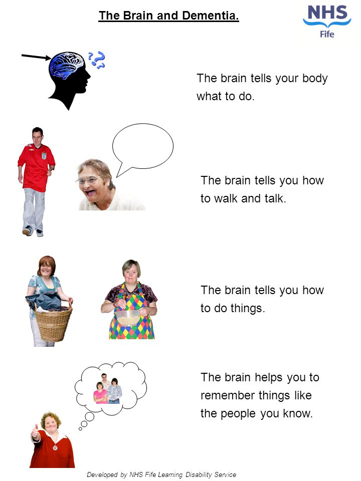The brain tells your body what to do. The brain tells you how to walk and talk.