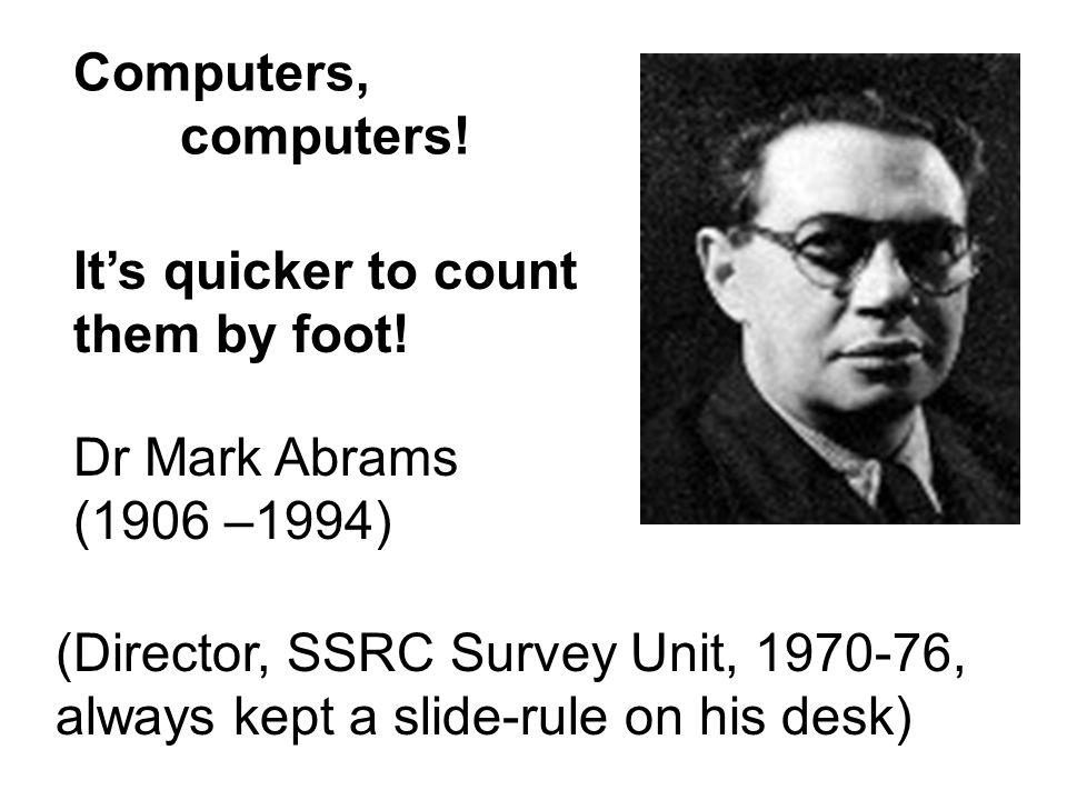 Data Layout Sheet 1 (SSRC Survey Unit, 1971)