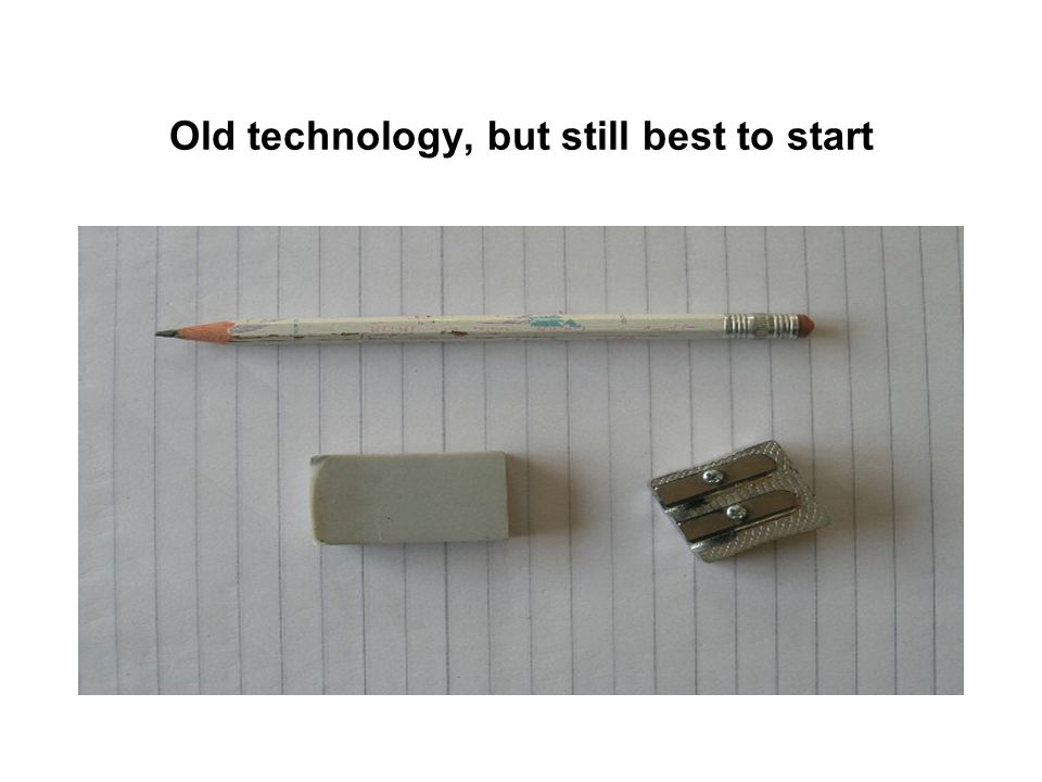 Old technology, but still best to start