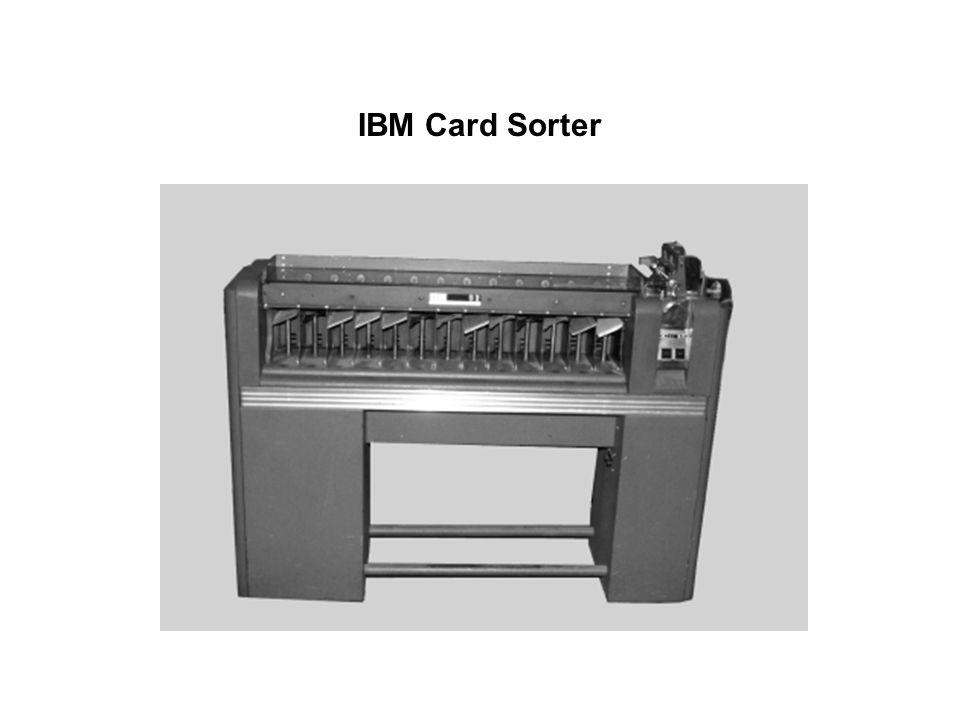 IBM Card Sorter