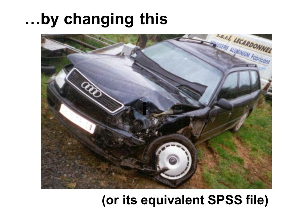 …by changing this ii (or its equivalent SPSS file)