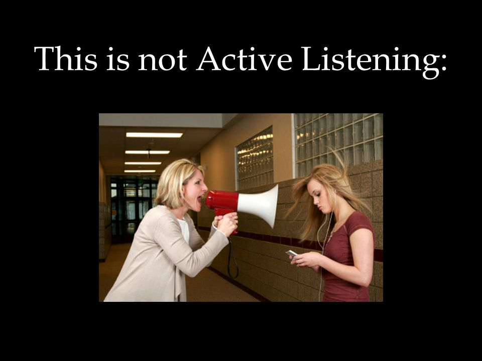 Active Listening - Defined  Active listening is a structured form of listening and responding that focuses on the speaker.