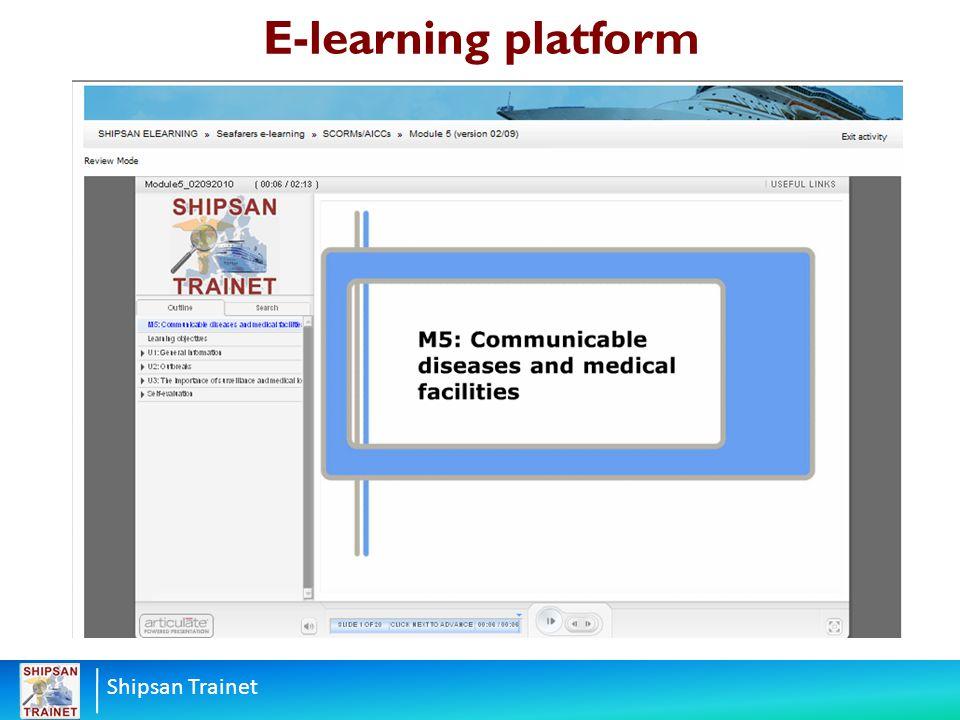 Shipsan Trainet E-learning platform