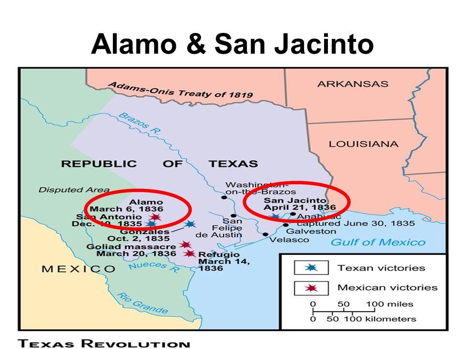 Alamo & San Jacinto