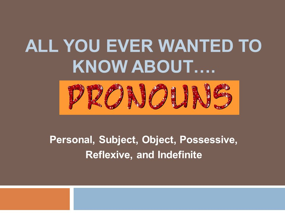 What is a Pronoun. A pronoun is a word that is used in place of a noun or another pronoun.