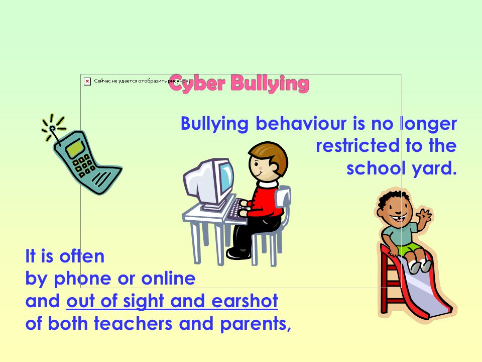 A victim of Cyber Bullying online should: Never reply to online bullying or harassment Put yourself in control - store and print out messages and keep them as evidence, noting exact time and date if possible Block communication with the Cyber Bullying person: (a) by email, by adding her/him to your blocked list and (b) on social networking sites (e.g.