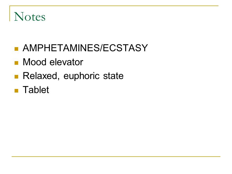 Harmful Effects of Substance Abuse Drugs Ecstasy Vomiting Depression Heart Palpitations