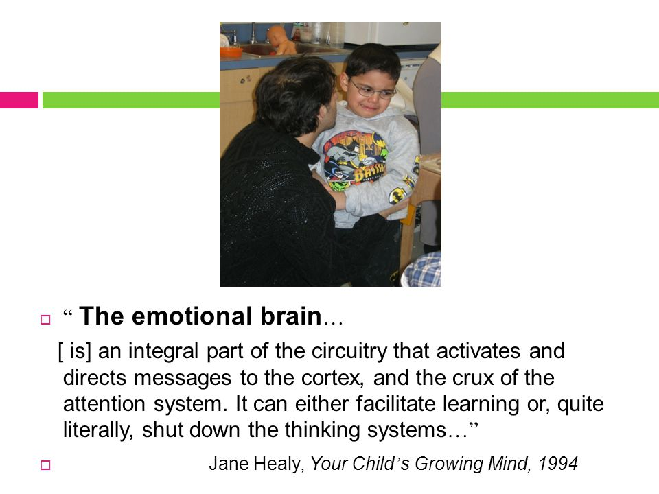 How do feelings affect thoughts and what can adults do to support emotional learning.