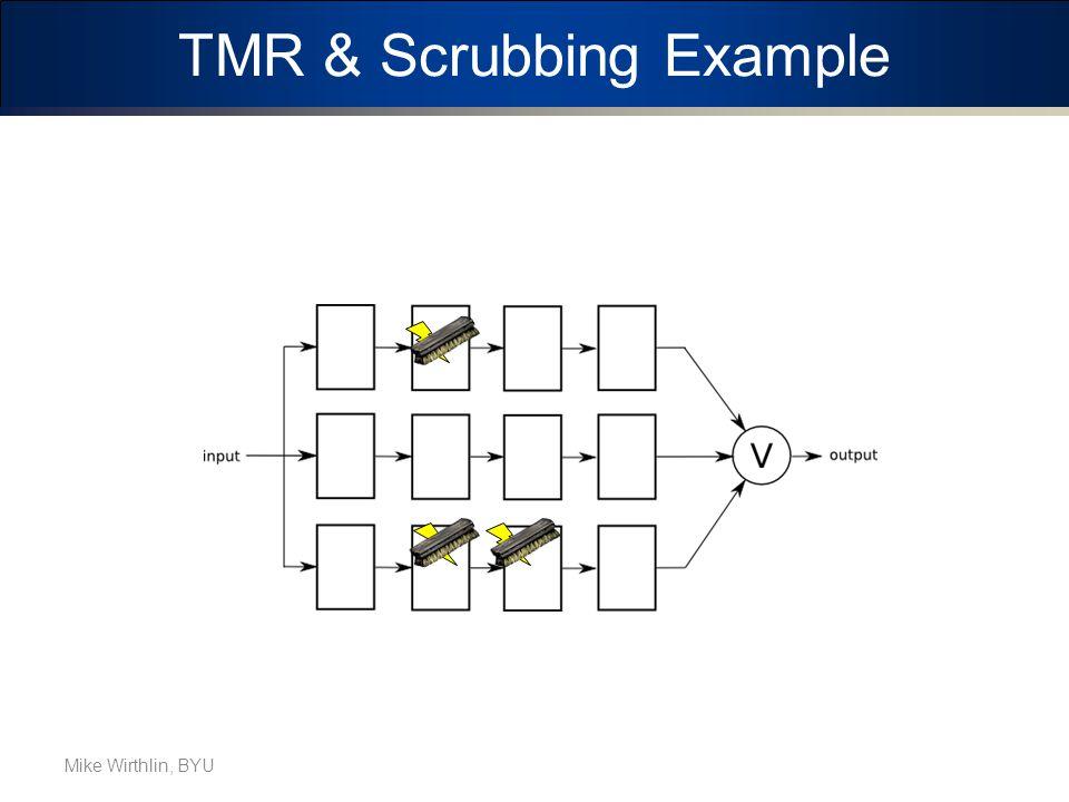TMR & Scrubbing Example Mike Wirthlin, BYU