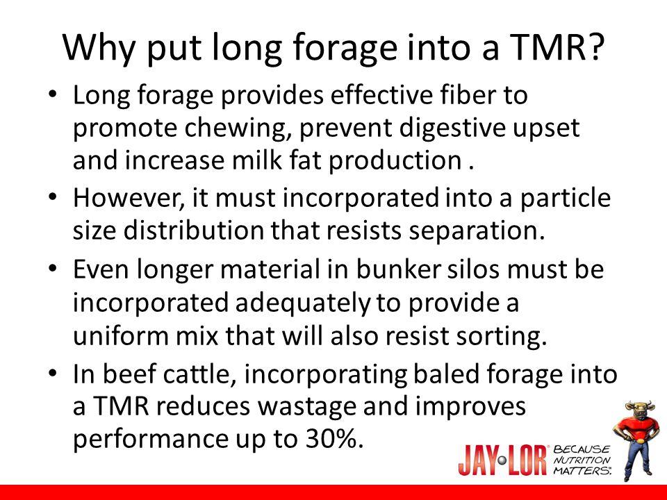 Sorting behavior Inherent cattle behavior (for ingredient selection while grazing).
