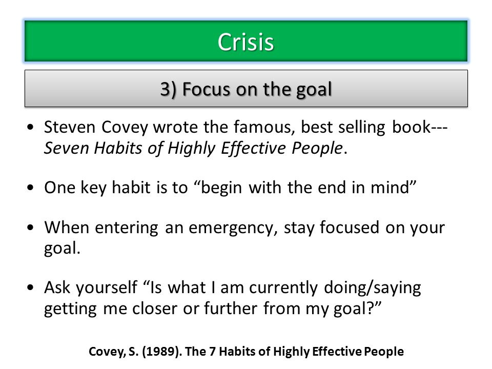 Steven Covey wrote the famous, best selling book--- Seven Habits of Highly Effective People.