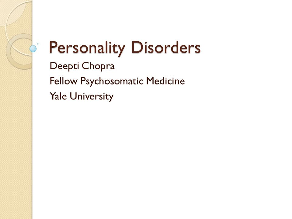 Treatment : Narcissistic PD Difficult to treat (You cannot fix awesome) Psychotherapy *Kohut: empathic validation.