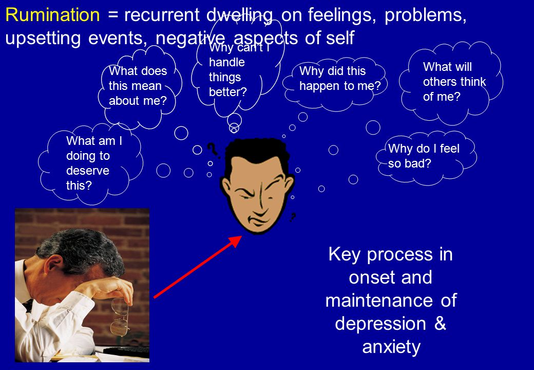 Targeting avoidance & rumination  Treatment approach 2 – mode of processing  Intervention – Shifting processing mode