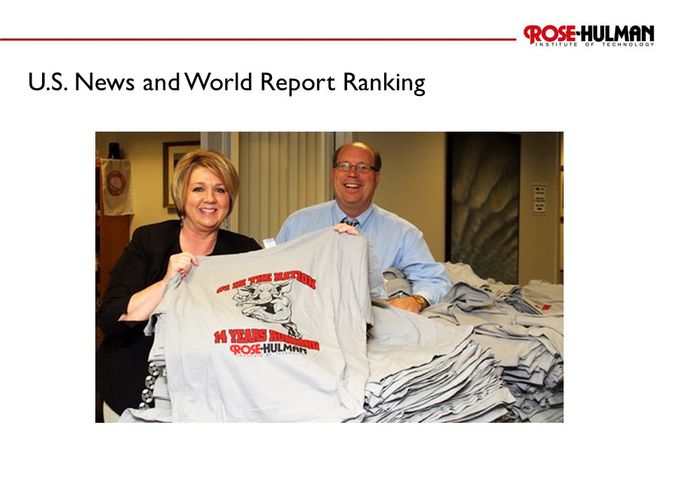 U.S. News and World Report Ranking