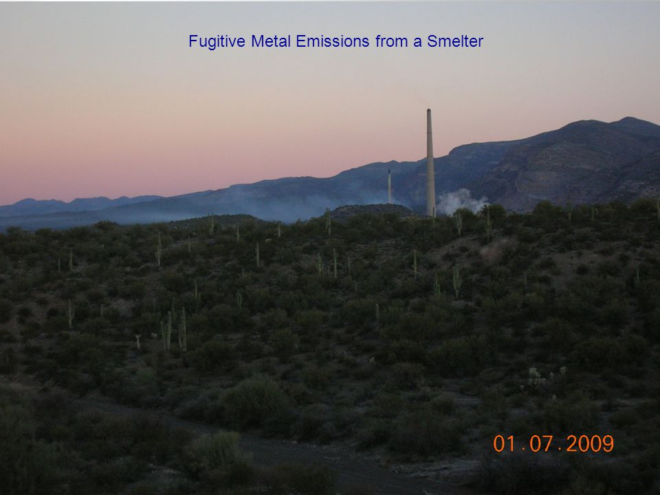 4 Fugitive Metal Emissions from a Smelter